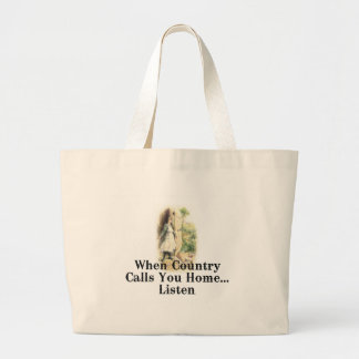 TEE Country Home Large Tote Bag
