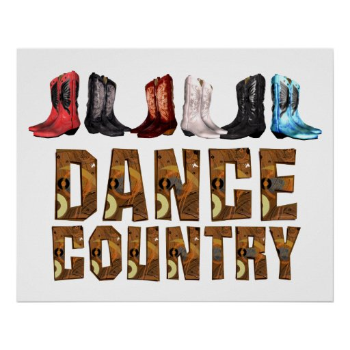 TEE Country Line Dance Posters