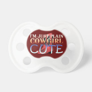 TEE Cowgirl Cute Pacifier