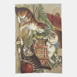 TEE Curious Cat Kitchen Towel