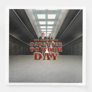 TEE Daughter to Work Day Paper Dinner Napkin