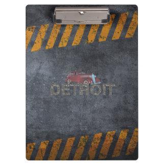 TEE Detroit Clipboards
