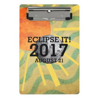 TEE Eclipse It 2017 Mini Clipboard