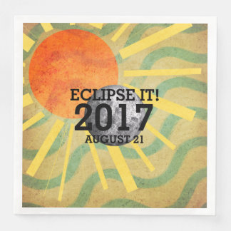 TEE Eclipse It 2017 Paper Napkins