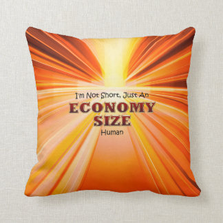 TEE Economy Size Throw Pillow