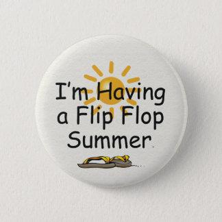 TEE Flip Flop 2 Inch Round Button