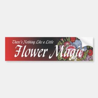TEE Flower Magic Bumper Sticker