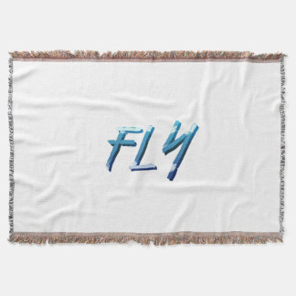 TEE Fly Throw Blanket