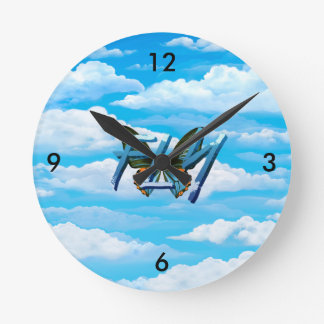 TEE Fly Wall Clocks