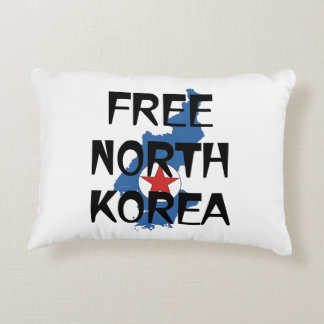 TEE Free North Korea Accent Pillow