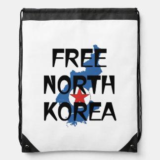 TEE Free North Korea Drawstring Bag
