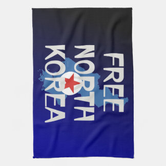TEE Free North Korea Hand Towels
