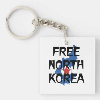 TEE Free North Korea Keychain