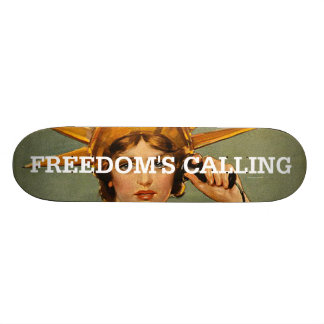 TEE Freedom s Calling Skateboards