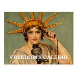 TEE Freedom's Calling Postcard