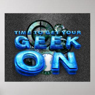 TEE Geek On Poster