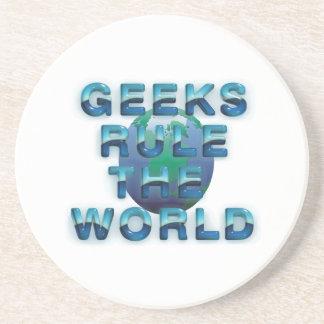 TEE Geeks Rule the World Coaster