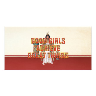 TEE Good Girls Achieve Picture Card