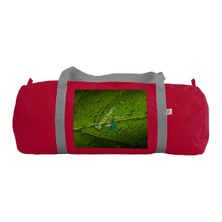 TEE Green Party Gym Bag