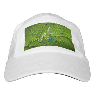 TEE Green Party Headsweats Hat