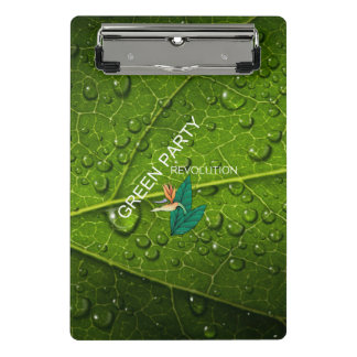 TEE Green Party Mini Clipboard