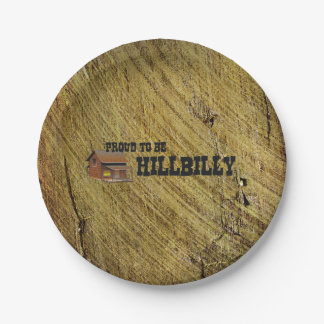 TEE Hillbilly Proud Paper Plate