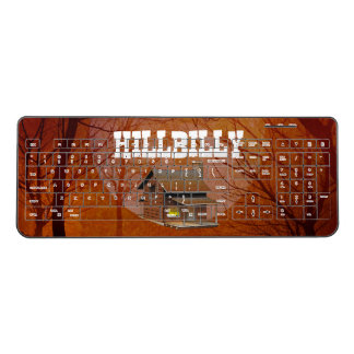 TEE Hillbilly Proud Wireless Keyboard