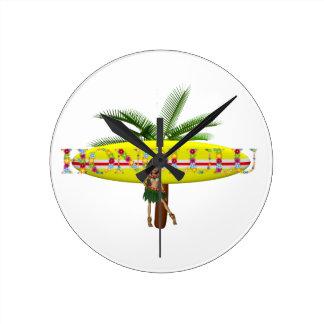 TEE Honolulu Round Clock