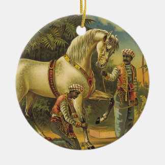 TEE Horse Royalty Ceramic Ornament