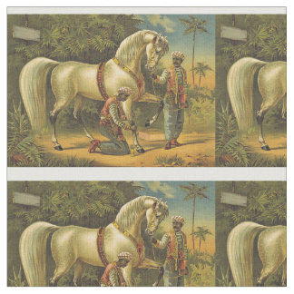 TEE Horse Royalty Fabric