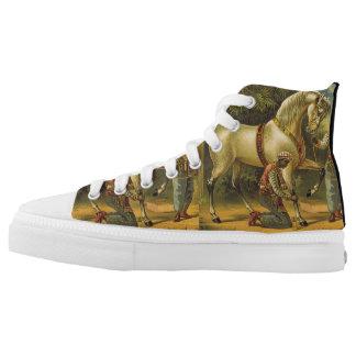 TEE Horse Royalty High Tops