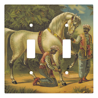 TEE Horse Royalty Light Switch Cover