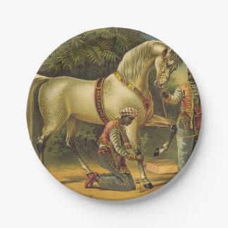 TEE Horse Royalty Paper Plate