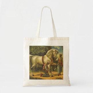 TEE Horse Royalty Tote Bag