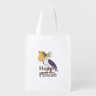 TEE Hungry Pelican Market Totes