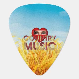 TEE I Love Country Music Pick