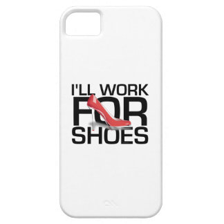 TEE I Work for Shoes Case For The iPhone 5