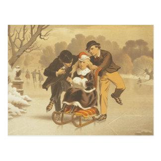 TEE Ice Courtship Postcard