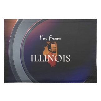TEE I'm from Illinois Placemat