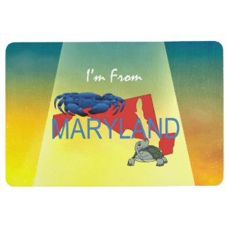 TEE I'm from Maryland Floor Mat