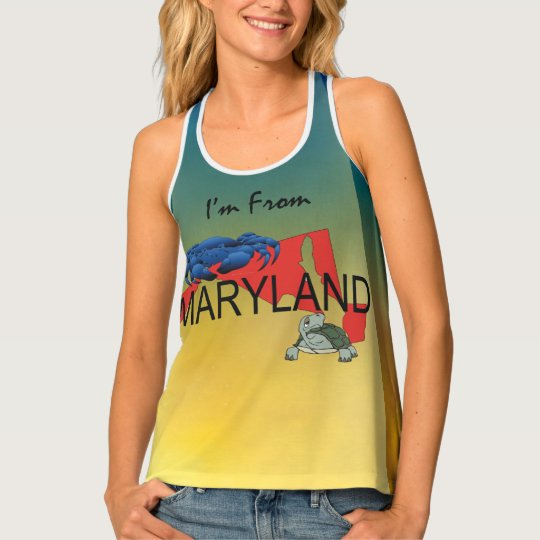 TEE I'm from Maryland Tank Top