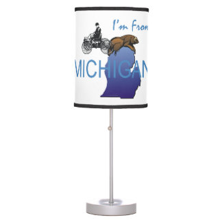 TEE I'm from Michigan Desk Lamps