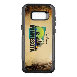 TEE I'm from Minnesota OtterBox Commuter Samsung Galaxy S8+ Case