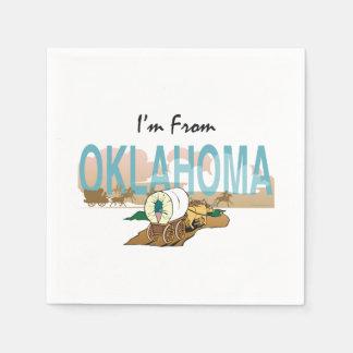 TEE I'm from Oklahoma Paper Napkin