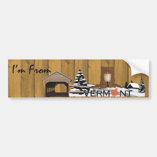 TEE I'm From Vermont Bumper Sticker