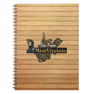 TEE I'm from West Virginia Notebooks