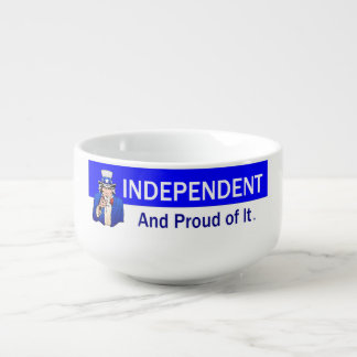 TEE Independent and Proud of It Soup Mug