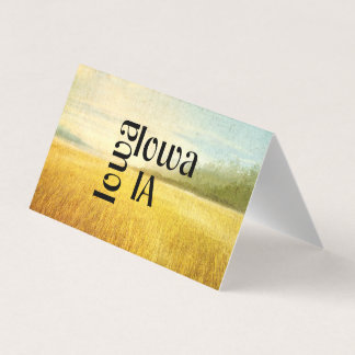TEE Iowa Business Card