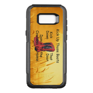 TEE Kick Up Those Boots OtterBox Commuter Samsung Galaxy S8+ Case