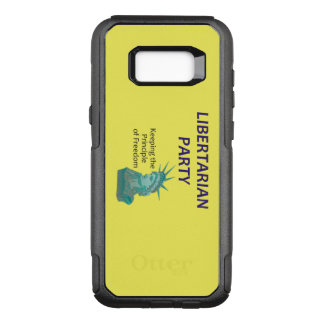 TEE Libertarian Party OtterBox Commuter Samsung Galaxy S8+ Case